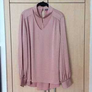 """Silk Vince Camuto """"Artistic Muse"""" Blouse"""